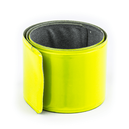 Reflexní náramek bez potisku - reflexní žlutá