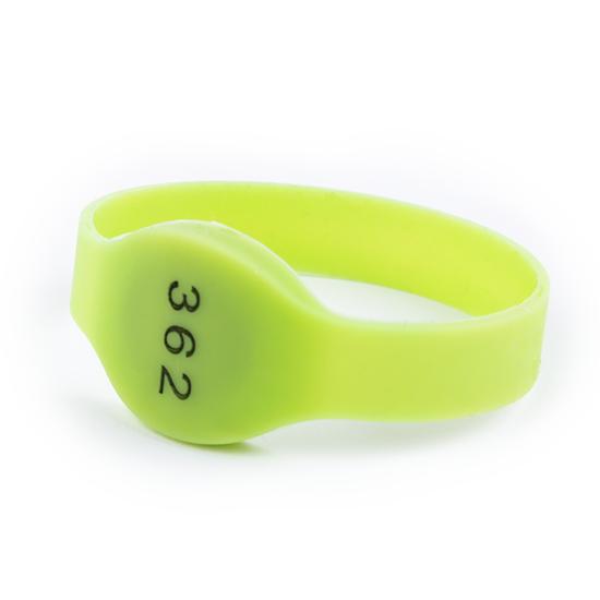 Obrázek z RFID Silikonový náramek s potiskem