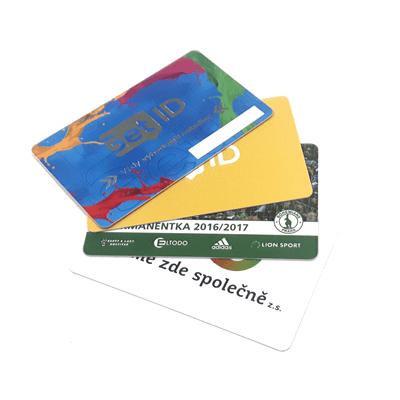 Obrázek pro kategorii Plastové a papírové karty
