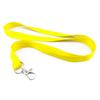 Šňůrka pevný textil - žlutá