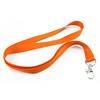 Šňůrka pevný textil - oranžová