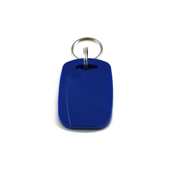RFID tag / klíčenka oválná modrá