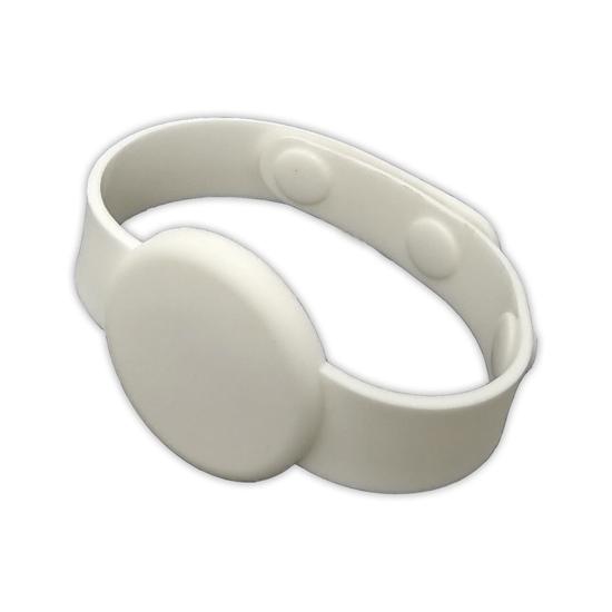 RFID silikonový náramek / hodinky s plastovými patentkami