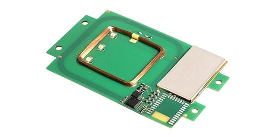 Elatec TWN4 MultiTech 2 PCB (OEM), LF/HF, integ. 125kHz+13.56MHz anténa