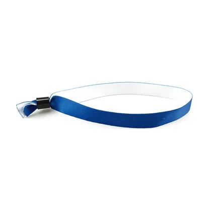 Skladové látkové náramky modré