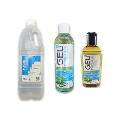 Obrázek pro kategorii Dezinfekční gely a čističe