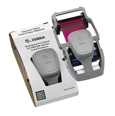 Obrázek pro kategorii Barvící pásky pro tiskárnu karet Zebra ZC100